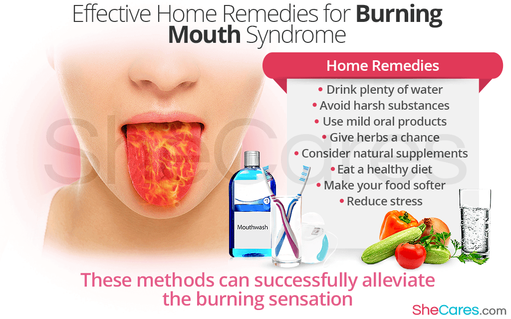 Effective Home Remedies for Burning Mouth Syndrome