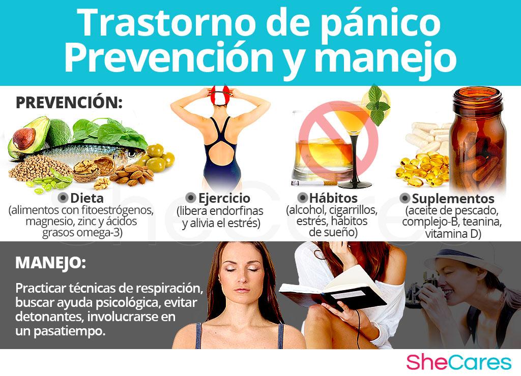 Trastorno de pánico - Prevención y manejo