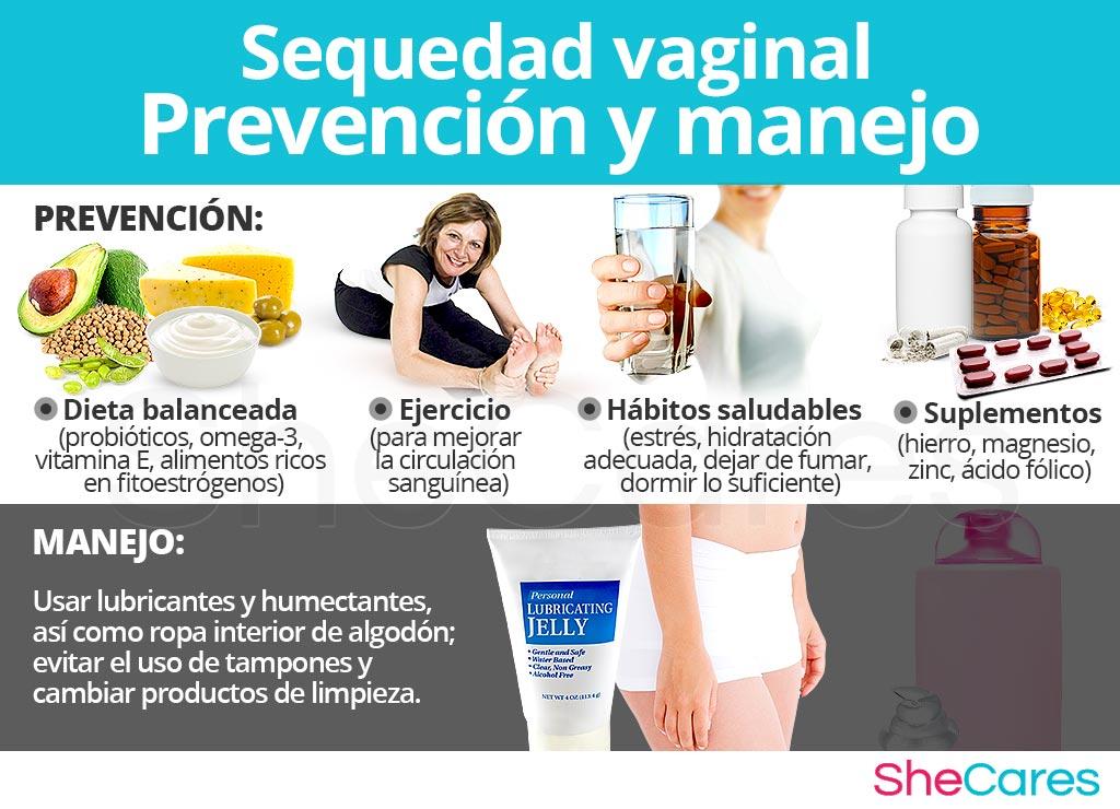 Sequedad vaginal - Prevención y manejo