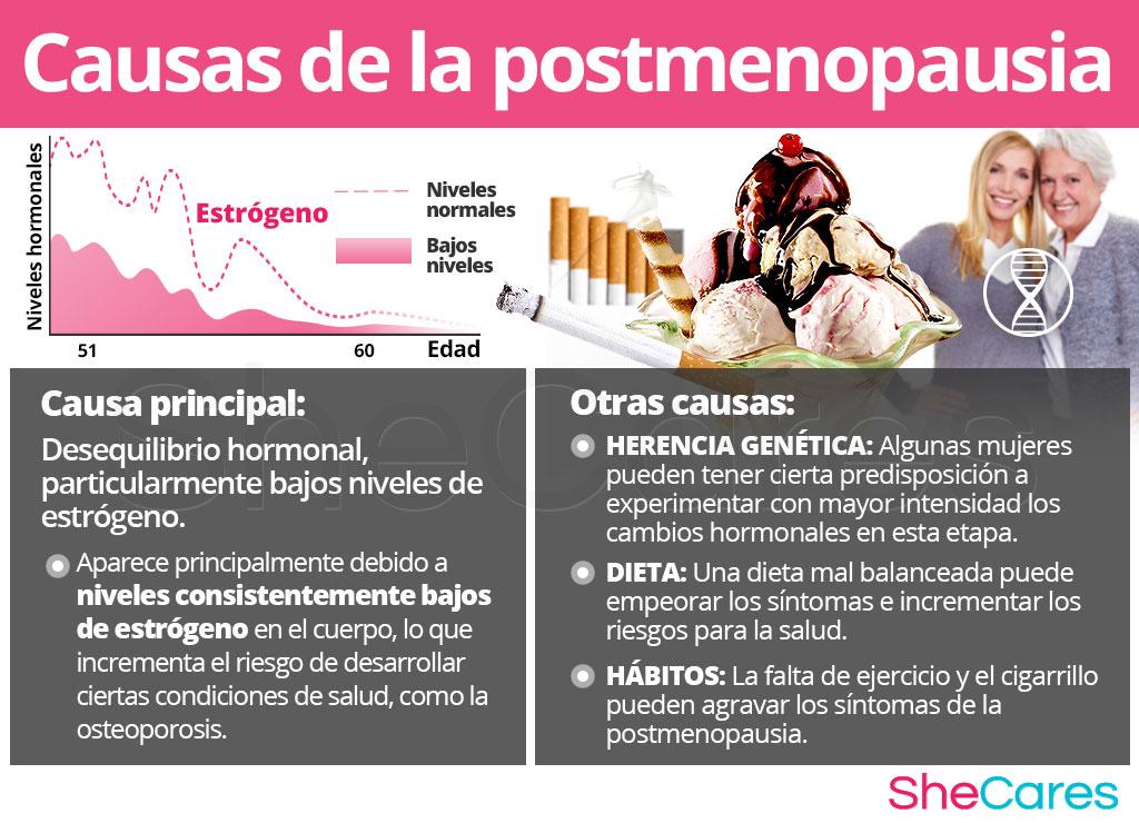 Causas de la posmenopausia