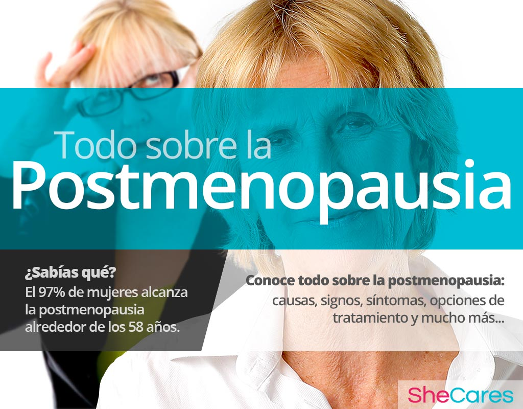 Síntomas de la posmenopausia