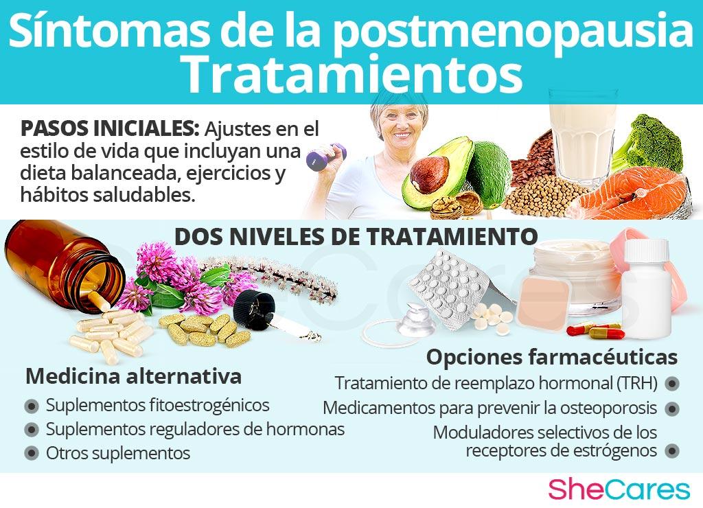 Síntomas de la posmenopausia - Tratamientos