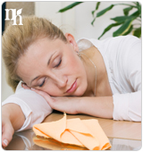 Fatigue is one of the symptoms of estrogen imbalance