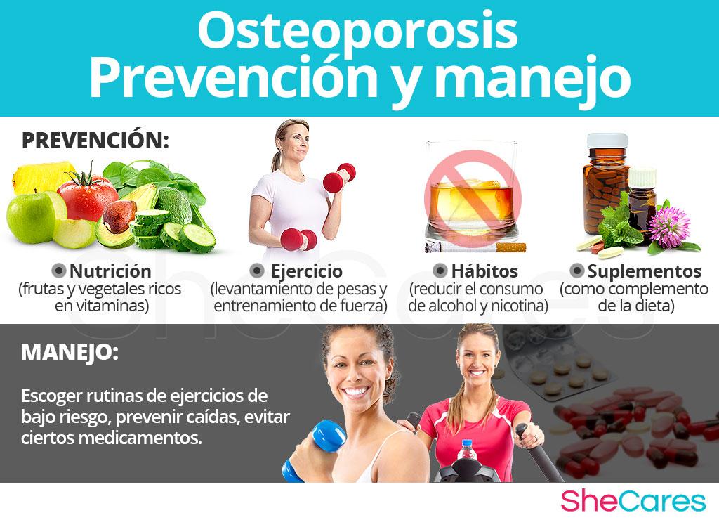 Prevención y manejo de la osteoporosis