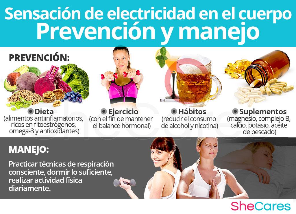 Prevención de la sensación de electricidad