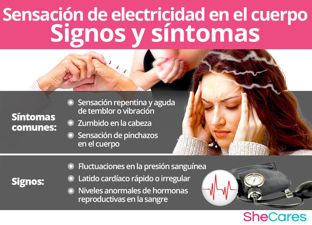 Síntomas de la sensación de electricidad