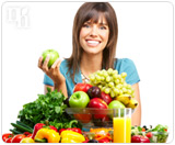 Women should eat a diet filled with fruits and vegetables.
