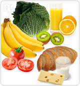 A healthy diet can help combat menopause symptoms.