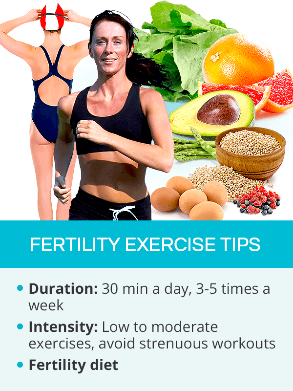 Fertility exercise tips