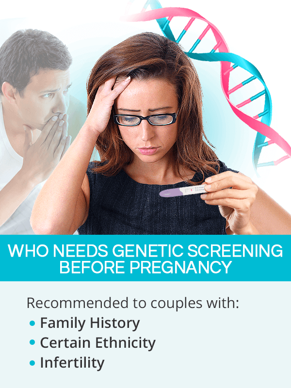 Who needs preconception genetic testing