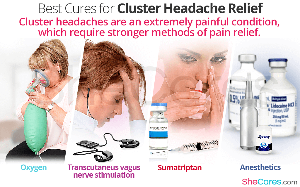 Best Cures to find Cluster Headaches Relief