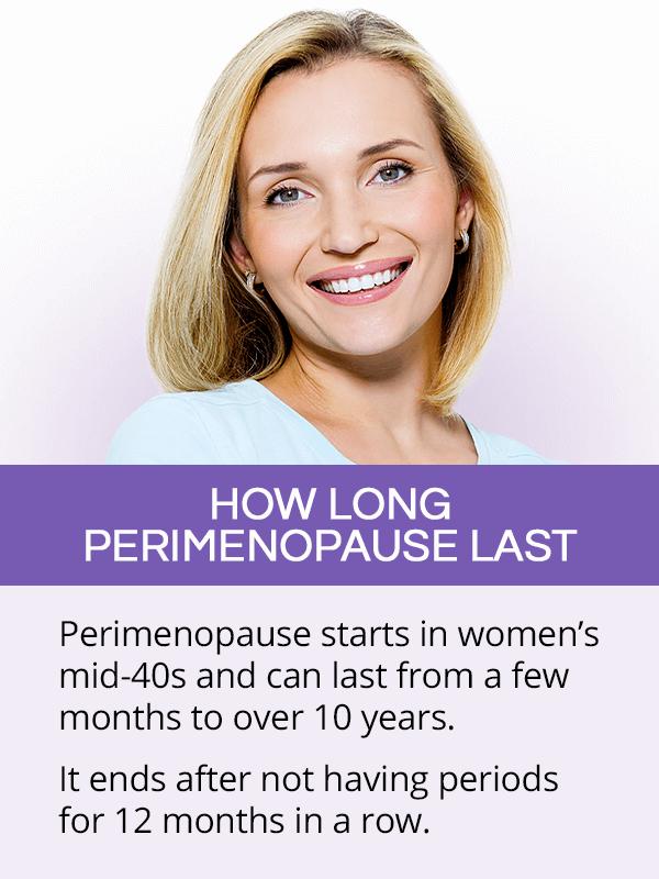 How long perimenopause last