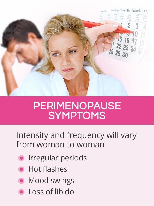 Perimenopause symptoms