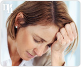 Disease disorder in sexually symptom transmitted woman requirement