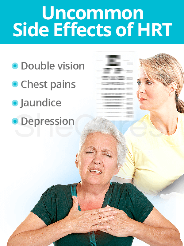 Uncommon HRT Side Effects