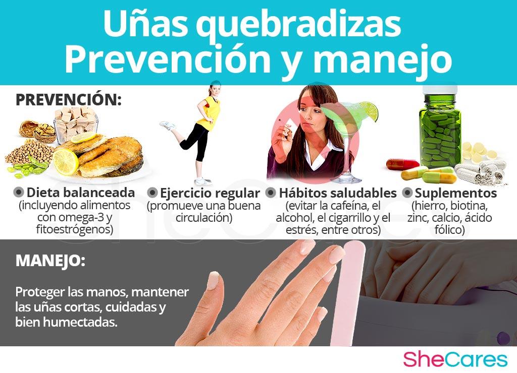 Uñas quebradizas - Prevención y manejo