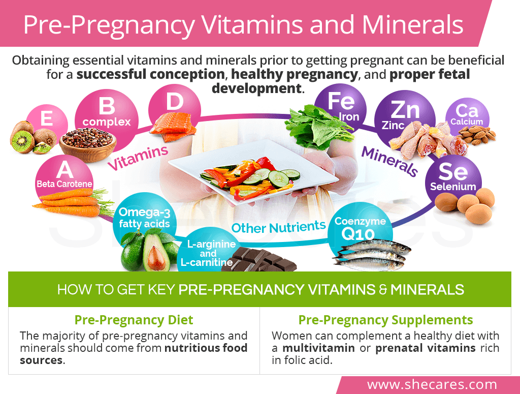 Pre-Pregnancy Vitamins and Minerals