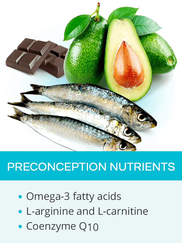 Preconception nutrients