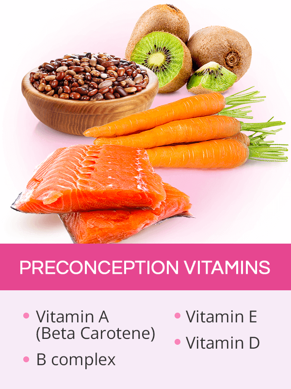Preconception vitamins