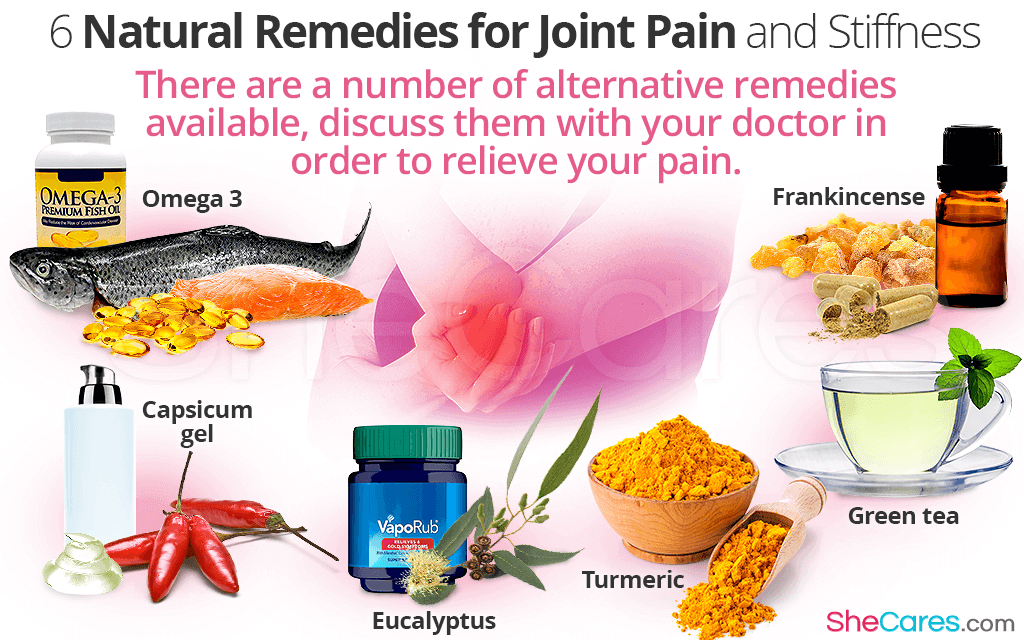 There are a number of alternative remedies available, discuss them with your doctor in order to relieve your pain.