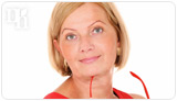 Menopausal women use  HRT to relieve their symptoms.