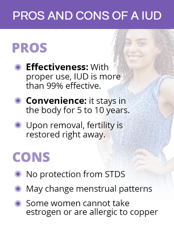 Pros and Cons of IUD