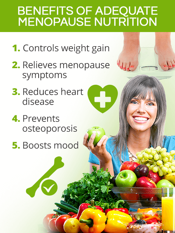 Benefits of menopause nutrition