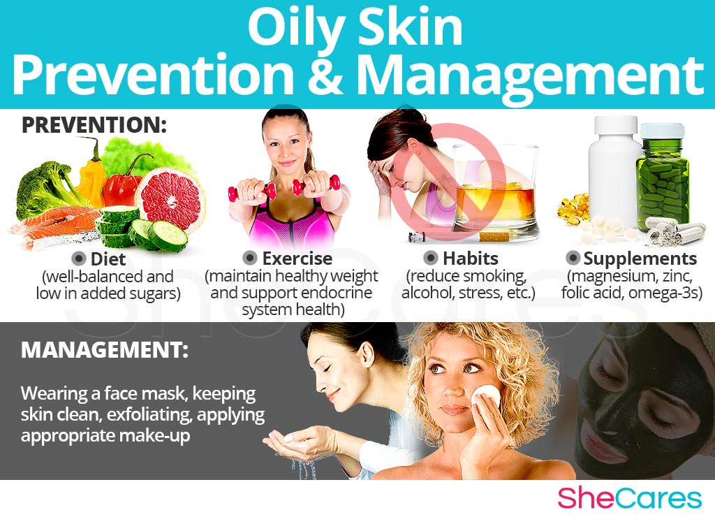 Oily Skin - Prevention and Management