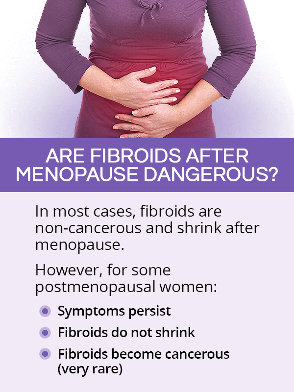 Are fibroids after menopause dangerous