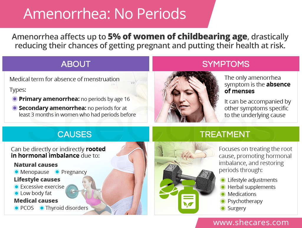 Amenorrhea: No Periods