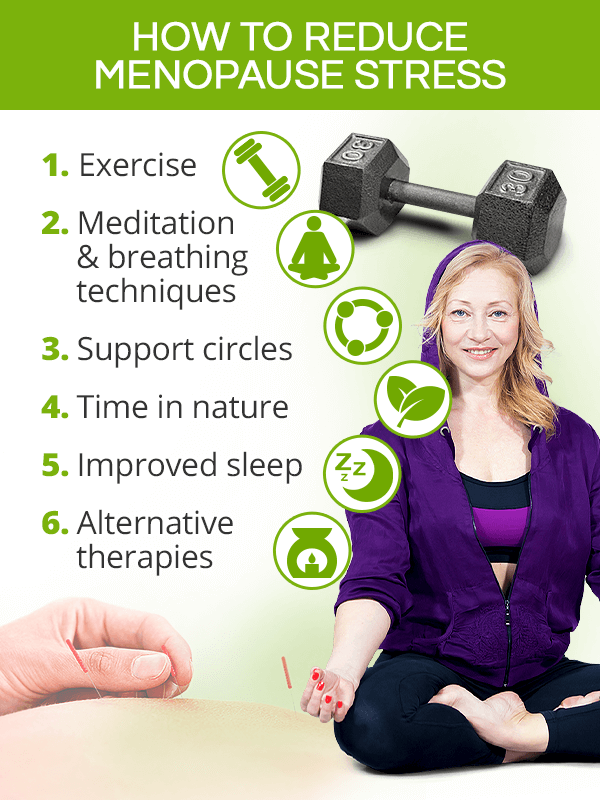 How to reduce menopause stress