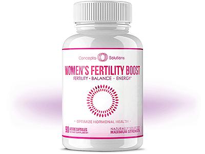 Concepta Solutions Women's Fertility Boost: Complete Information