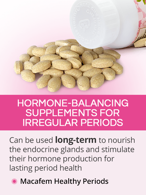 Hormone-Balancing Supplements for Irregular Periods