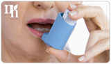 Asthma is a side effect of progesterone replacement therapy.
