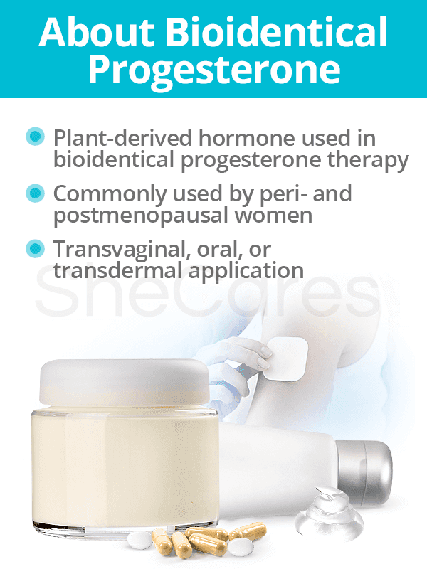 What Is Bioidentical Progesterone Replacement Therapy