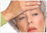 A disminished production of hormones causes hot flashes