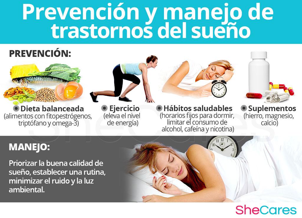 Prevención y manejo de trastornos del sueño