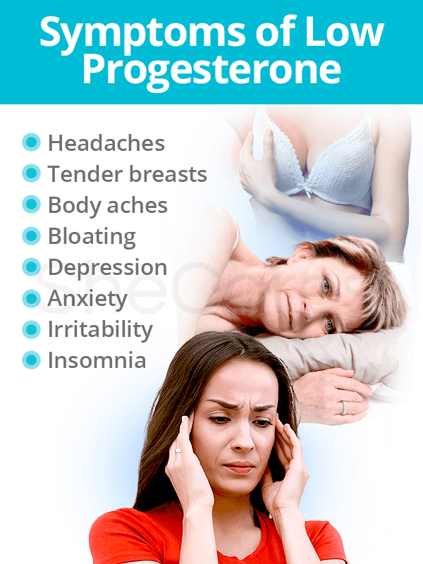 Symptoms of Low Progesterone Levels