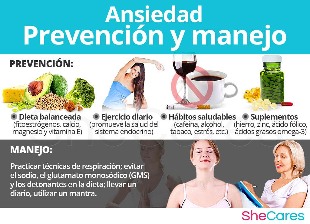 Ansiedad - Prevención y manejo