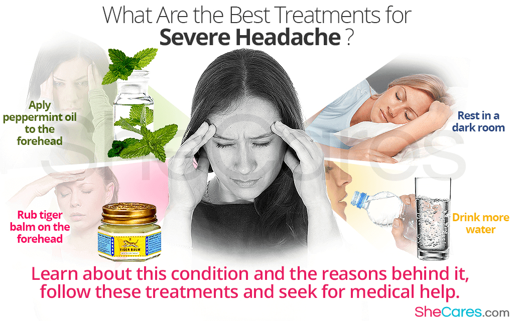 What Are the Best Treatments for Severe Headache?