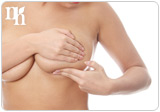 Testosterone imbalance increases the risk of breast cancer.