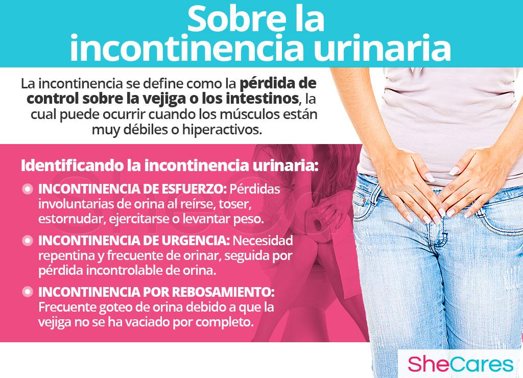Sobre la incontinencia urinaria