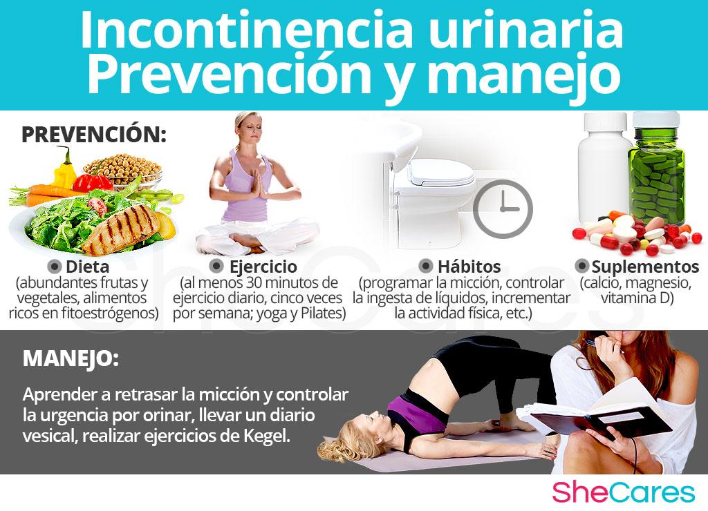 Incontinencia urinaria - Prevención y manejo