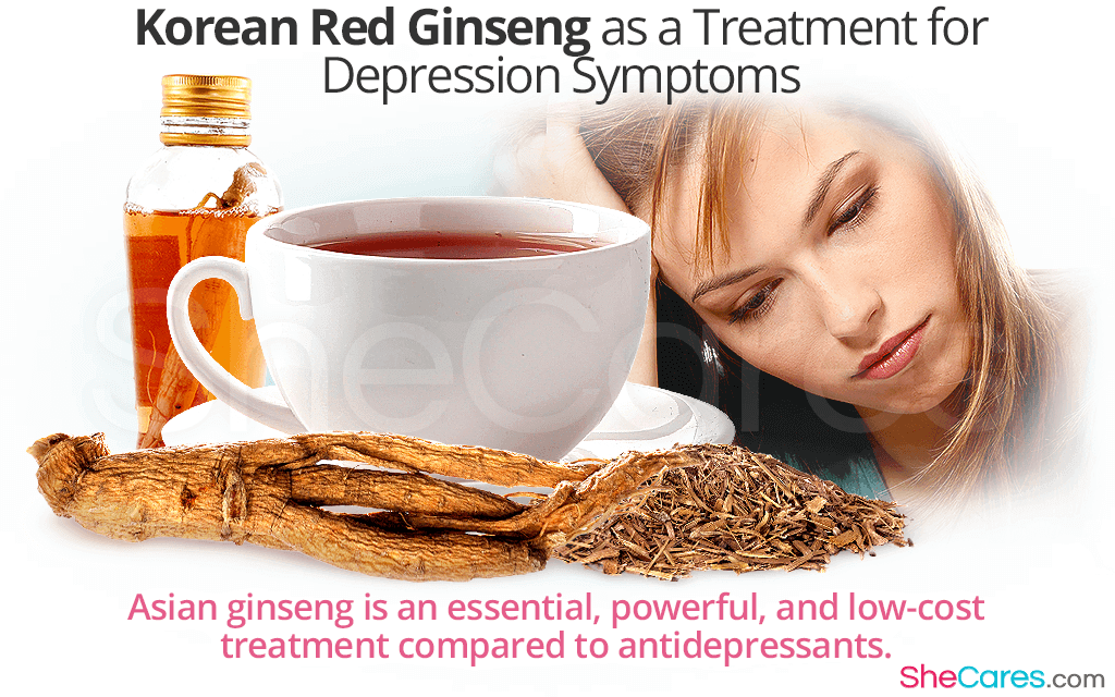 Korean Red Ginseng as a Treatment for Depression Symptoms