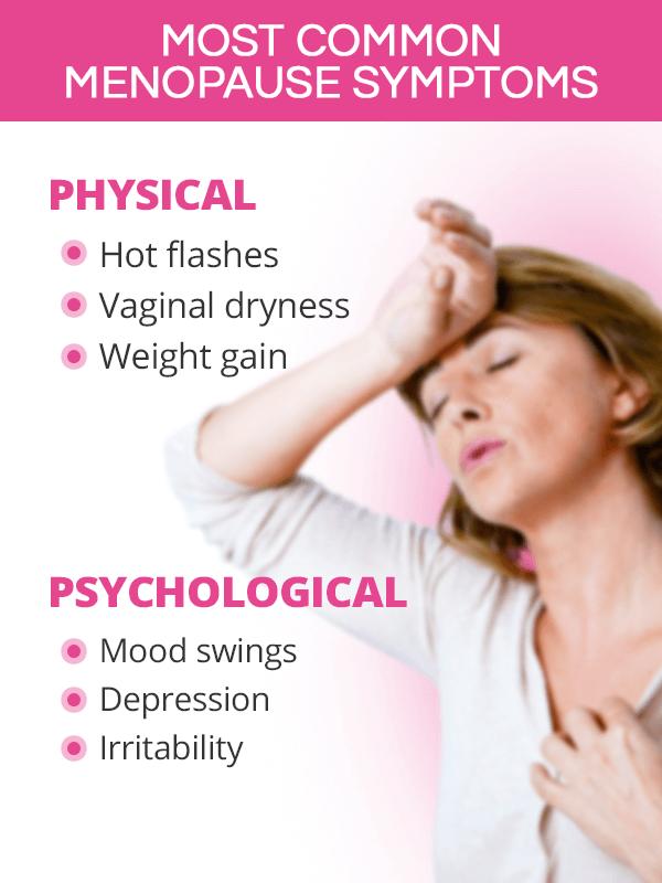 Most Common Menopause Symptoms