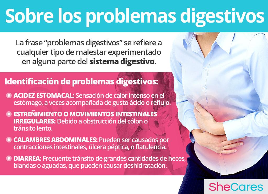 Acerca de los problemas digestivos