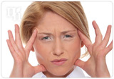 Hot flashes can cause nausea and headaches