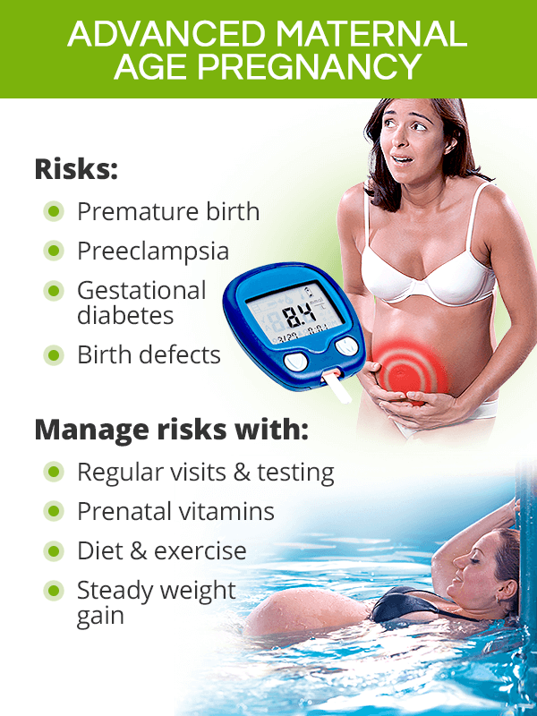 Advanced maternal age pregnancy